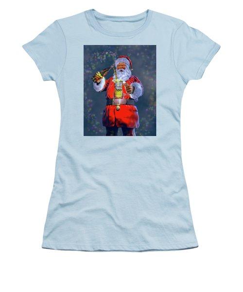 Christmas Cheer Iv Women's T-Shirt (Junior Cut) by Dave Luebbert