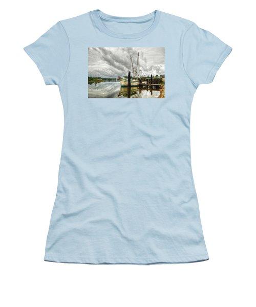 Christy Lynn On Bon Secour Women's T-Shirt (Athletic Fit)