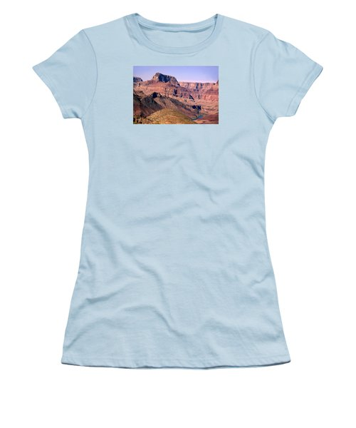 Chuar Butte  Grand Canyon National Park Women's T-Shirt (Athletic Fit)