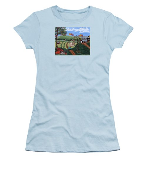 Cider Valley Women's T-Shirt (Athletic Fit)