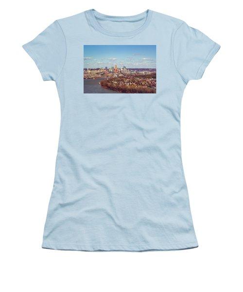 Cincinnati Skyline 2 Women's T-Shirt (Athletic Fit)