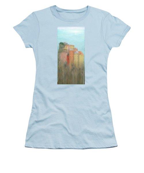 Cinque Terre Women's T-Shirt (Athletic Fit)