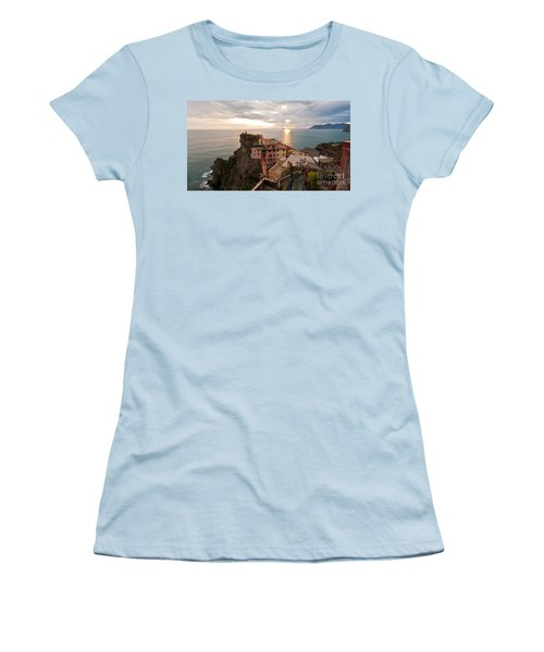 Cinque Terre Tranquility Women's T-Shirt (Athletic Fit)