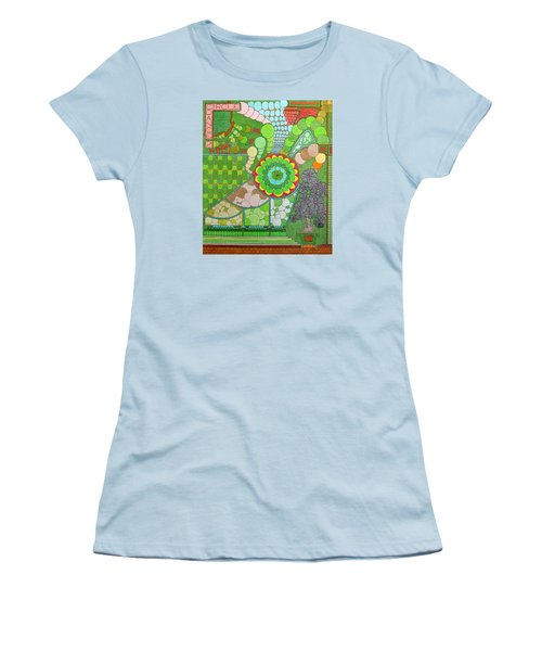 Circle Dance 2 Women's T-Shirt (Athletic Fit)