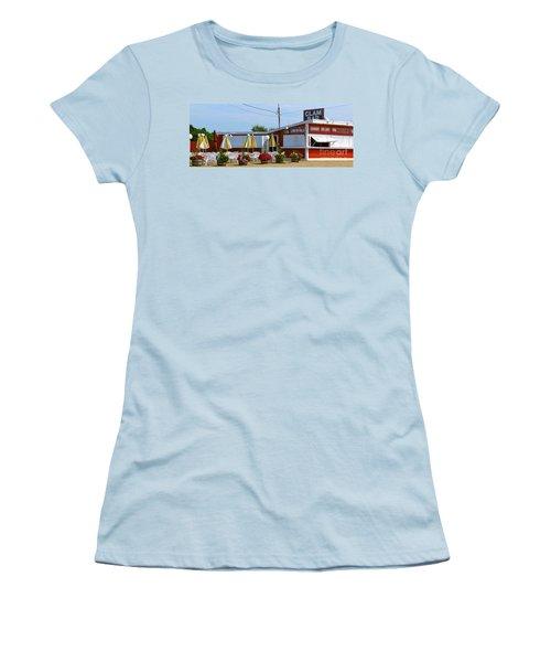 Clam Bar Women's T-Shirt (Junior Cut) by Beth Saffer