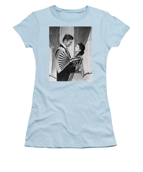 Clark Gable And Vivien Leigh Women's T-Shirt (Athletic Fit)