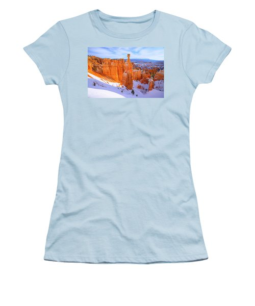 Women's T-Shirt (Junior Cut) featuring the photograph Classic Bryce by Chad Dutson