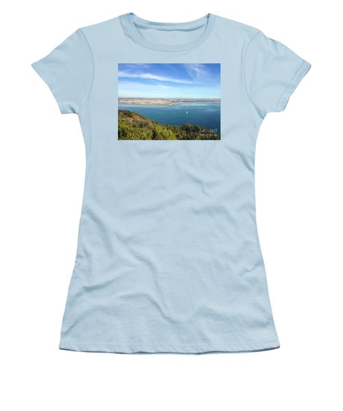Clear Blue Sea Women's T-Shirt (Athletic Fit)