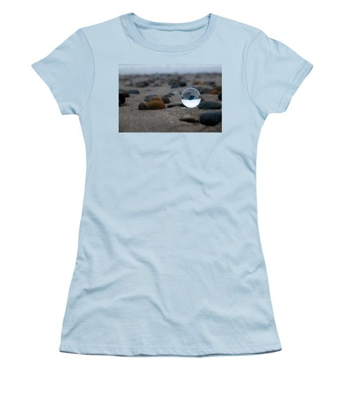 Women's T-Shirt (Athletic Fit) featuring the photograph Clear Rock by Lora Lee Chapman