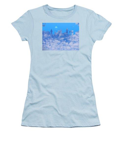 Cloud Castle Women's T-Shirt (Athletic Fit)