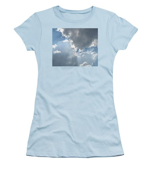 Clouds 1 Women's T-Shirt (Athletic Fit)