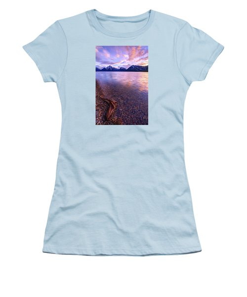 Clouds And Wind Women's T-Shirt (Junior Cut) by Chad Dutson