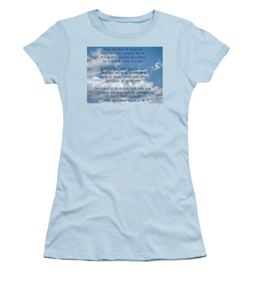 Clouds Illusions Women's T-Shirt (Athletic Fit)