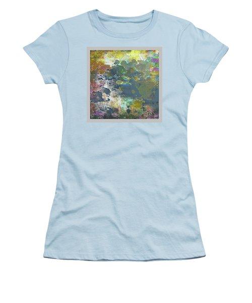 Clouds Over Water Women's T-Shirt (Junior Cut) by Deborah Nakano