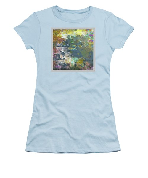 Clouds Over Water Women's T-Shirt (Athletic Fit)