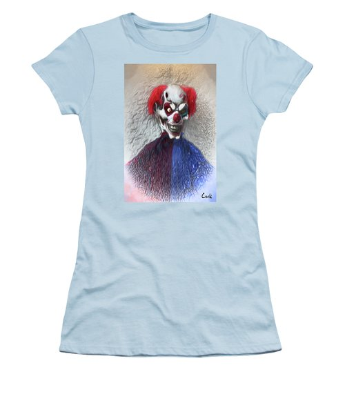Clownitis Women's T-Shirt (Junior Cut) by Terry Cork