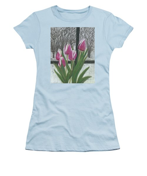 C'mon Spring Women's T-Shirt (Athletic Fit)