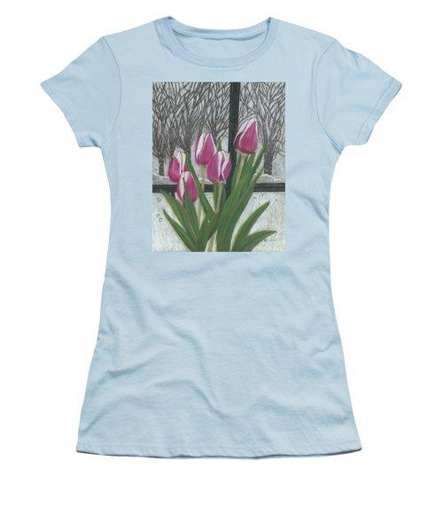 C'mon Spring Women's T-Shirt (Athletic Fit)