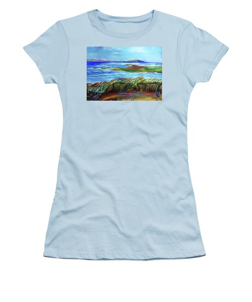 Coastal Winds Women's T-Shirt (Athletic Fit)