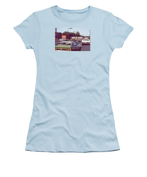 Coca Cola Plant On Central Ave Women's T-Shirt (Athletic Fit)