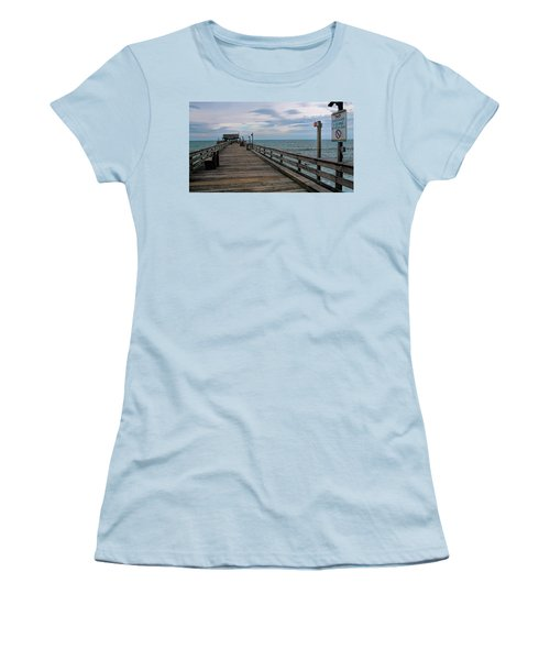 Cocoa Beach  Women's T-Shirt (Junior Cut) by Pat Cook
