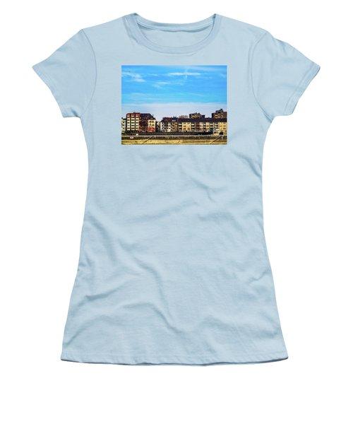 Cologne City Women's T-Shirt (Junior Cut) by Cesar Vieira