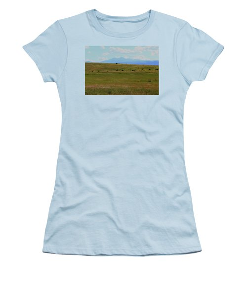 Colorado Grassland Women's T-Shirt (Athletic Fit)