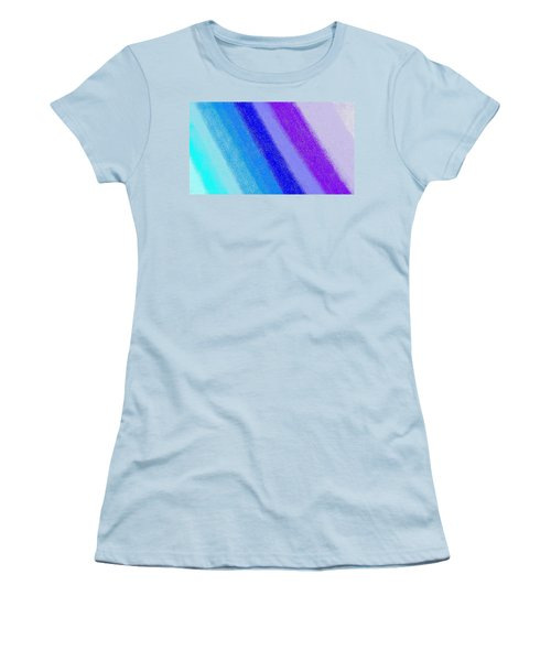 Colorful 3 Women's T-Shirt (Junior Cut) by Linda Velasquez
