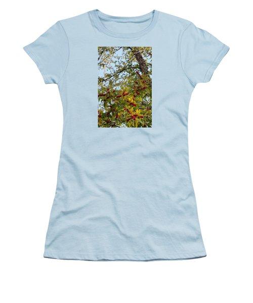 Colorful Contrasts Women's T-Shirt (Junior Cut) by Deborah  Crew-Johnson