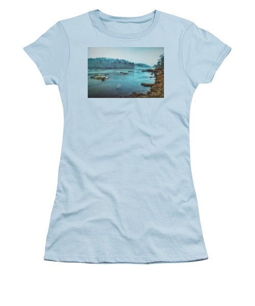 Colorful Fog Women's T-Shirt (Athletic Fit)