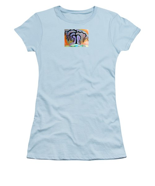 Colorful Life Women's T-Shirt (Junior Cut)