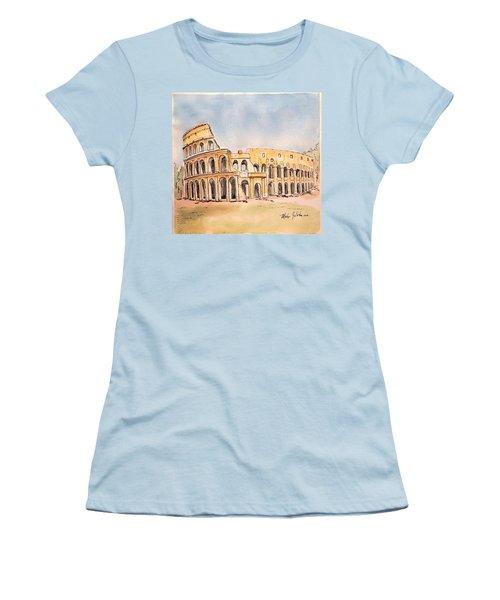 Colosseum Women's T-Shirt (Junior Cut) by Marilyn Zalatan