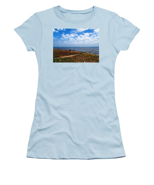 Women's T-Shirt (Junior Cut) featuring the photograph Come Sit With Me by Joyce Dickens