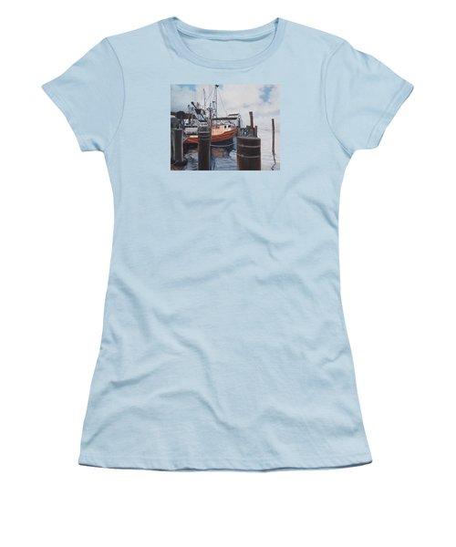 Coming Home Women's T-Shirt (Junior Cut) by Barbara Barber