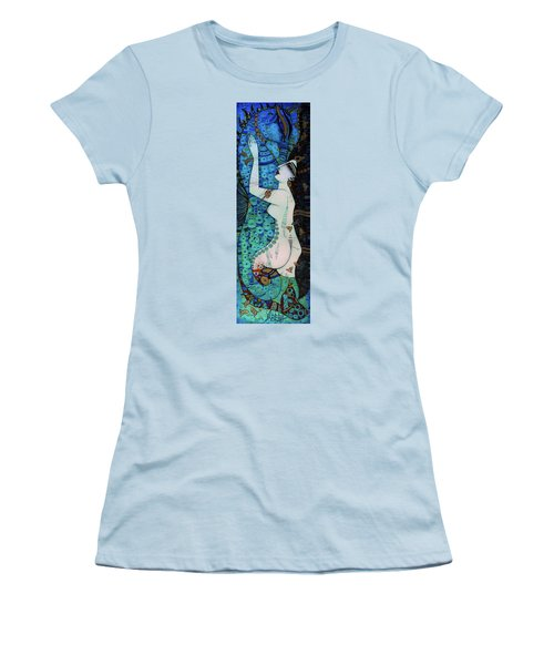 Confessions In Blue Women's T-Shirt (Athletic Fit)
