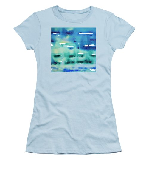 Cool Watercolor Women's T-Shirt (Athletic Fit)