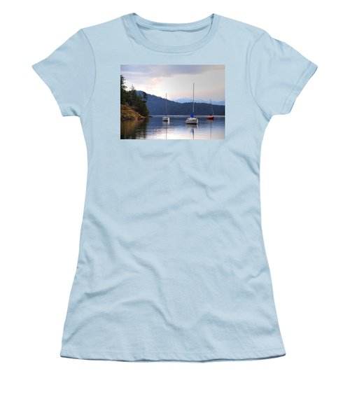 Cooper's Cove 1 Women's T-Shirt (Junior Cut) by Randy Hall