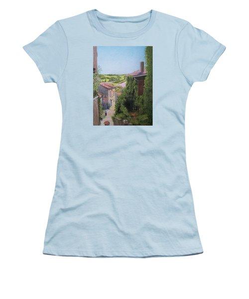 Cordes Sur Ciel Women's T-Shirt (Junior Cut) by Constance DRESCHER