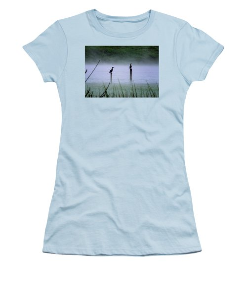 Cormorants Women's T-Shirt (Athletic Fit)