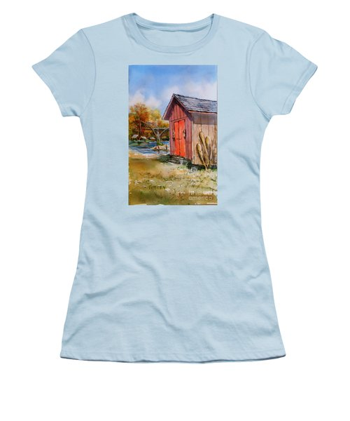 Cotter Shed Women's T-Shirt (Athletic Fit)