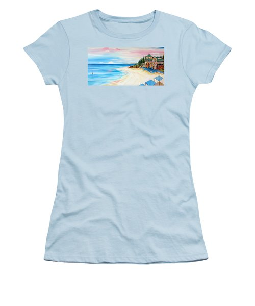 Cottesloe Beach Indiana Tea House Women's T-Shirt (Athletic Fit)