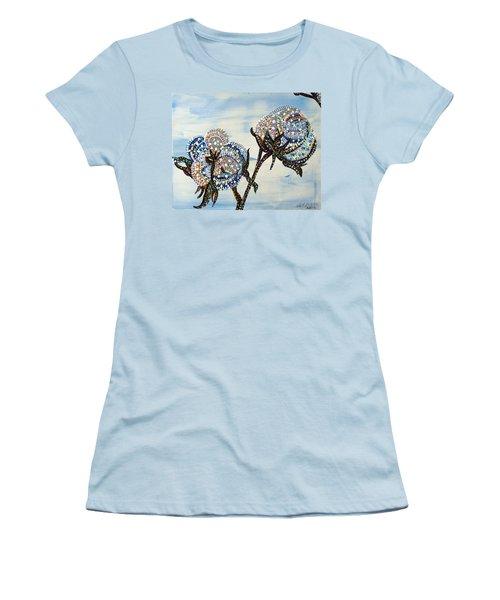Cotton Women's T-Shirt (Athletic Fit)