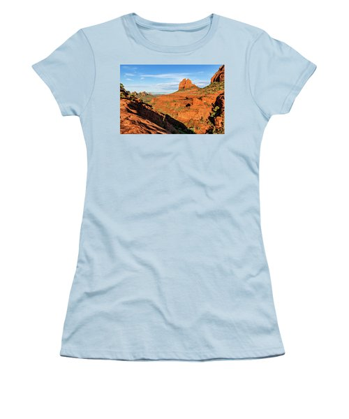 Cowpie 07-106 Women's T-Shirt (Junior Cut) by Scott McAllister