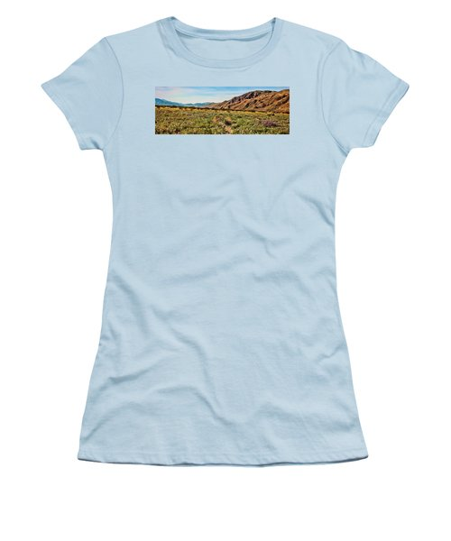 Coyote Canyon Meadow View Women's T-Shirt (Athletic Fit)