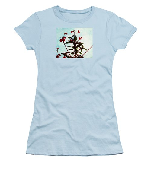 Women's T-Shirt (Junior Cut) featuring the photograph Crown Of Thorns by Shawna Rowe