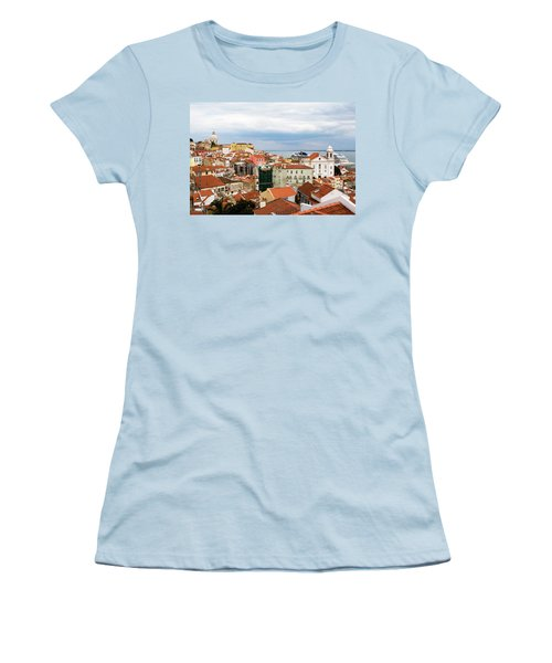 Cruise Ship Peeks Women's T-Shirt (Athletic Fit)