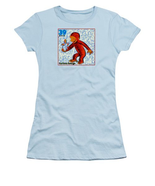 Curious George Women's T-Shirt (Athletic Fit)