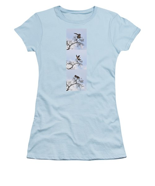 Women's T-Shirt (Junior Cut) featuring the photograph Cycle Of Life-view  Whole Screen by Debby Pueschel
