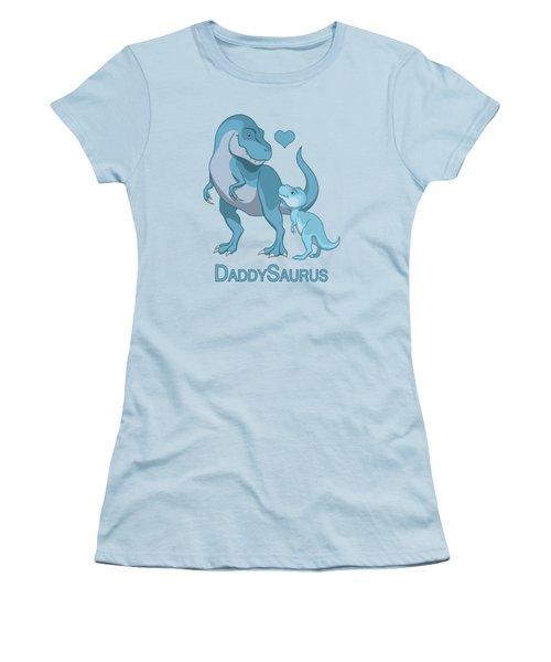 Daddy Tyrannosaurus Rex Baby Boy Women's T-Shirt (Athletic Fit)