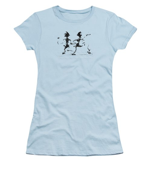 Dancing Couple 3 Women's T-Shirt (Athletic Fit)